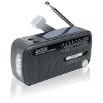 Muse MH-07DS tragbares Kurbel-Radio