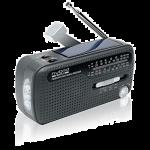 Muse MH-07DS tragbares Kurbel-Radio