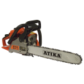 Atika Benzin-Kettensäge BKS38 Testbericht